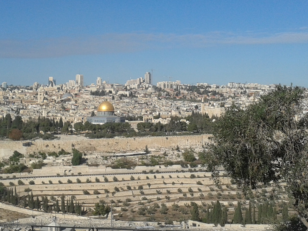 Jerusalem – focus of conflict. But God calls us to pray for the peace of the city (Psalm 122:6).
