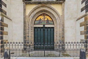 Door of the Theses in Wittenberg Germany. & Displaying items by tag: luther